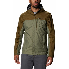 Columbia Pouring Adventure II Giacca Uomo, stone green/new olive